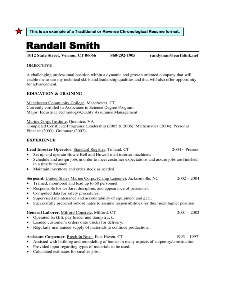 Traditional Resume. Our Other Free Cv Templates Includes Compact