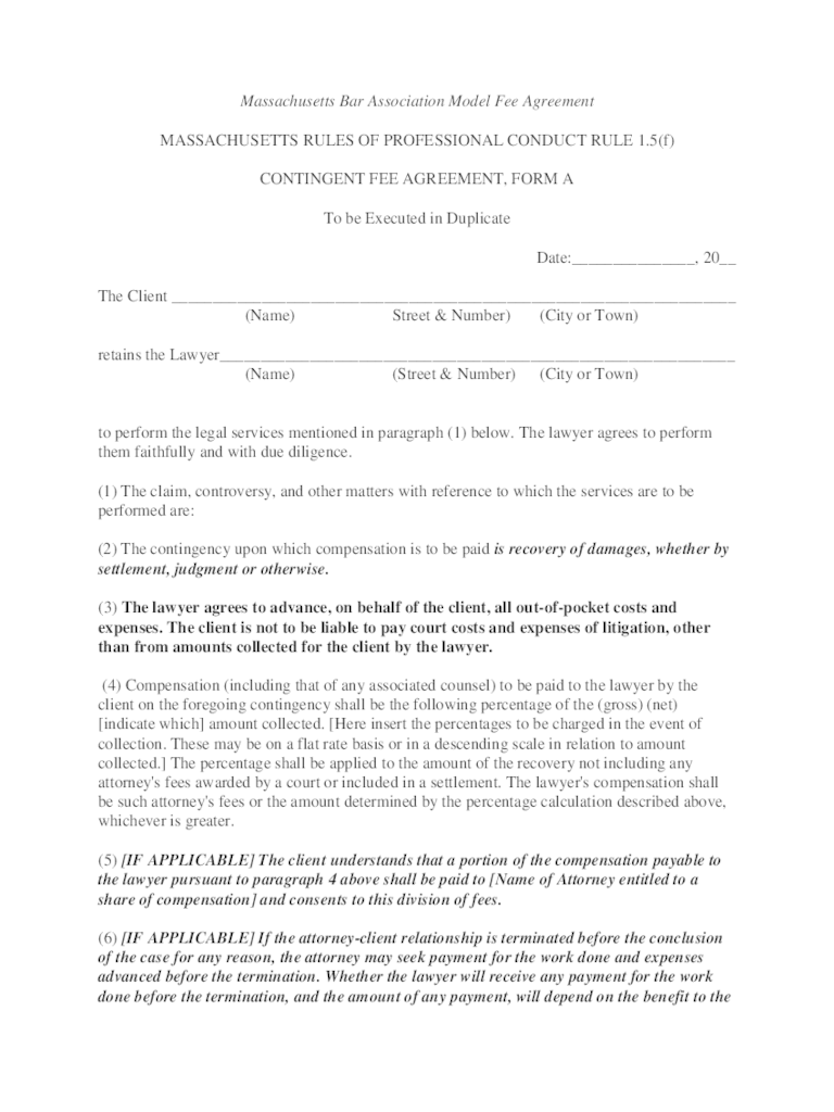 Contingency Fee Agreement Template  1000 ideas about retainer