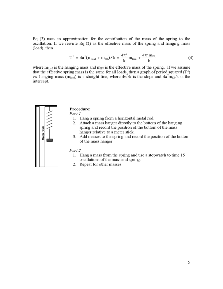 Physics lab write up example