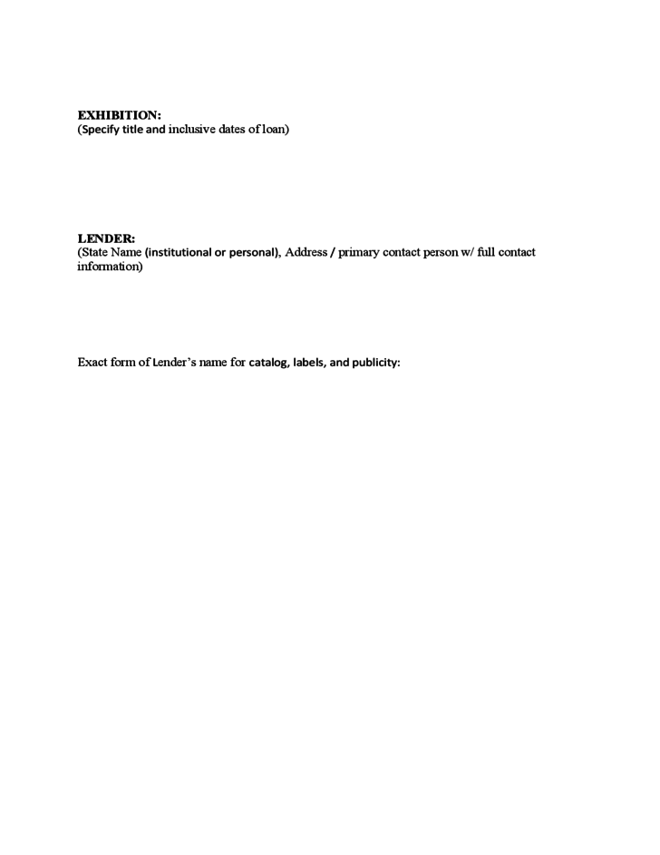 Doc728972 Employee Loan Agreement Template The Employee Loan – Printable Loan Agreement Form