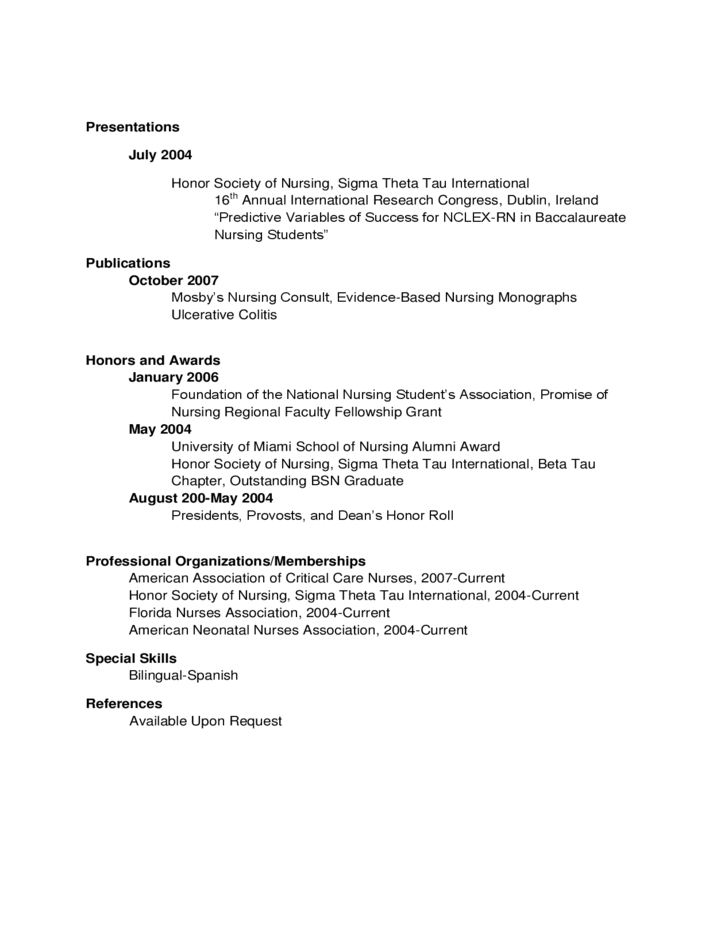 Example Rn Resume New Grad. Resume Examples New Graduate Noiseart