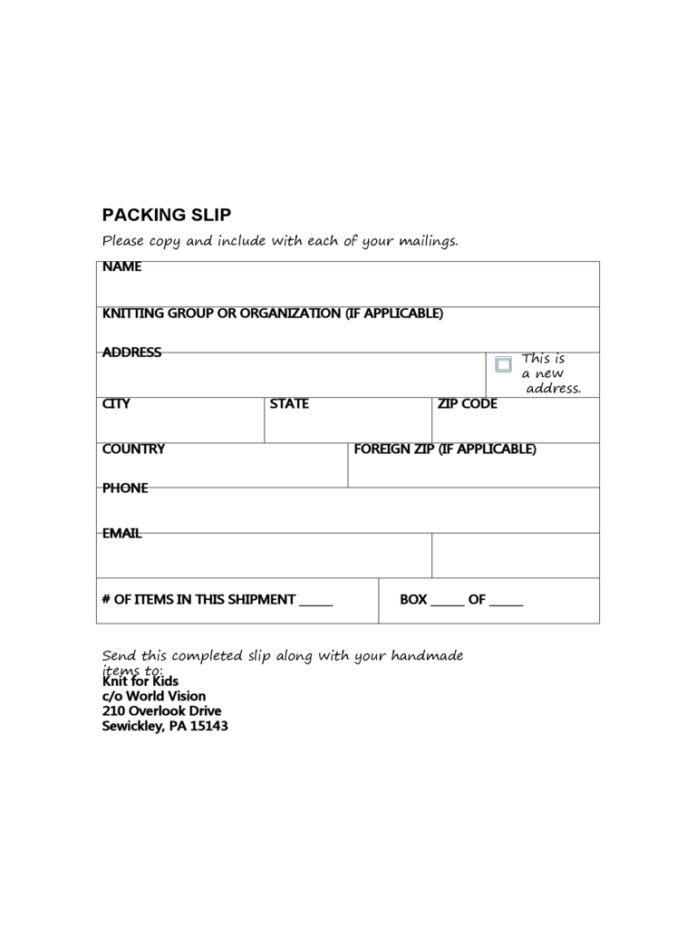 pics photos free for excel aol soft compacking packing slip – Sample Packing Slip