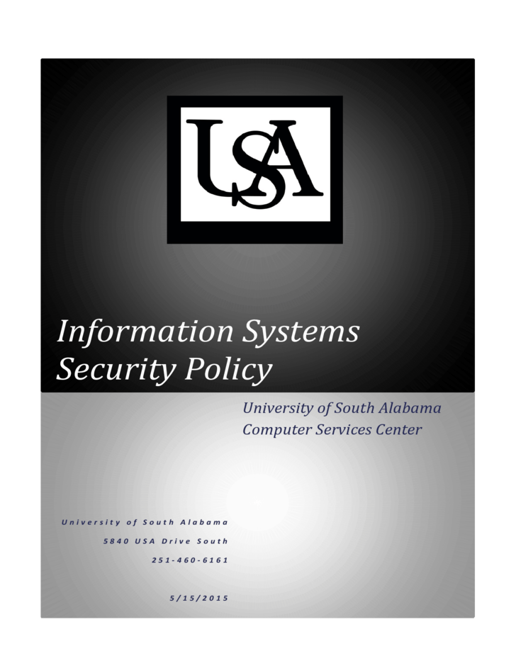 Security Monitoring Policy Information