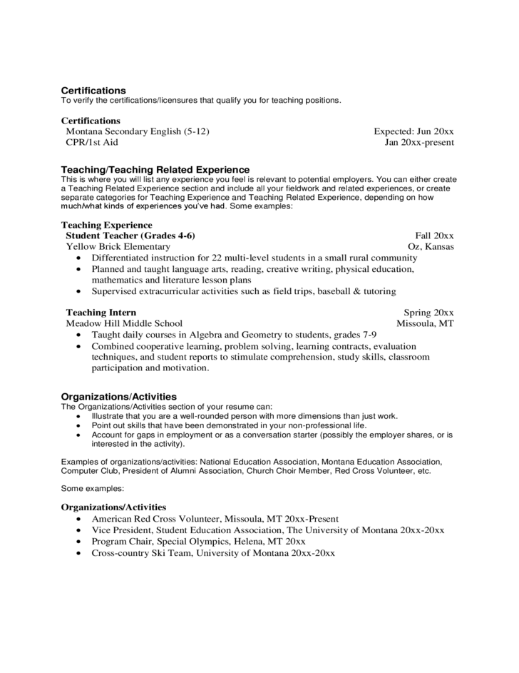 physical education cover letters
