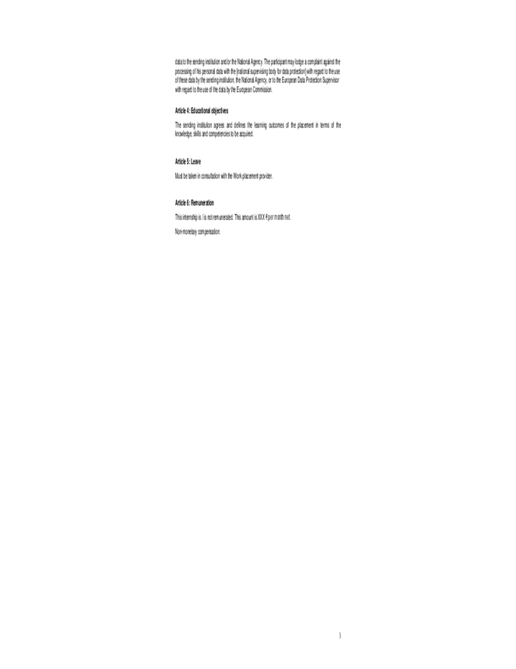 home images and development document and development sample – Training Agreement Template