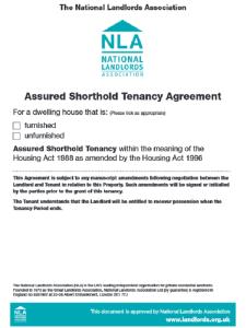 Assured Shorthold Tenancy Agreement Form Free Download