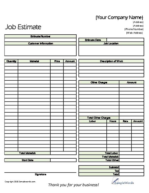 Business Forms Marketing