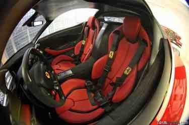 Ferrari LaFerrari 1:1 Scale Model Of The Interior - March 2012  L