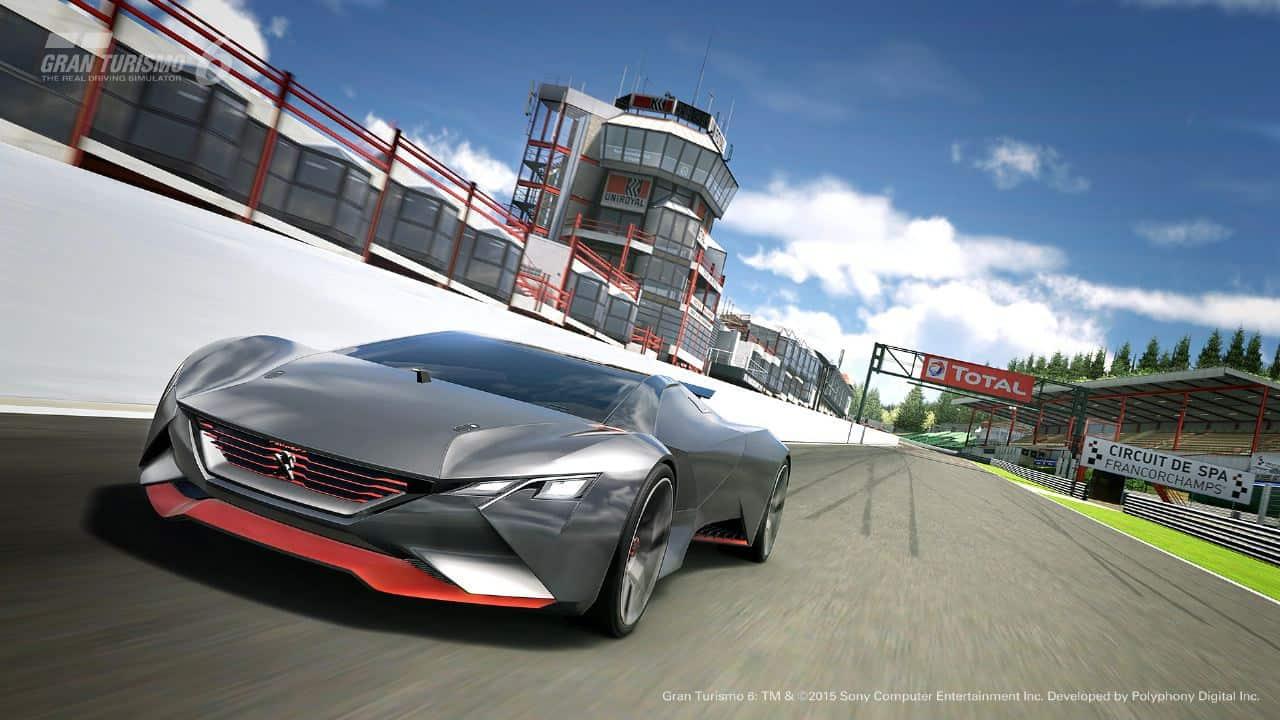 Peugeot Unveils Vision Gran Turismo