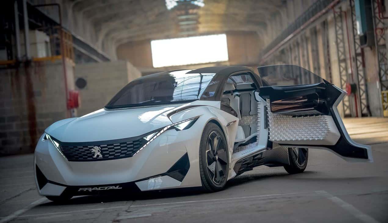 Peugeot Fractal Concept Design Videos