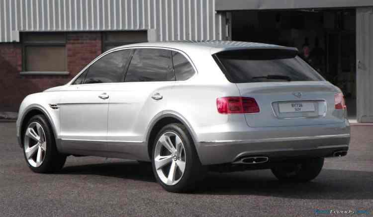Bentley Bentayga chosen Crewe model rear