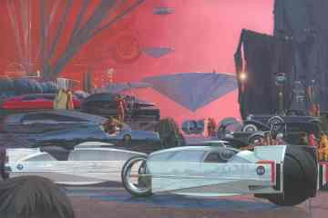 Syd Mead EyesOn Design Lifetime Achievement Award poster