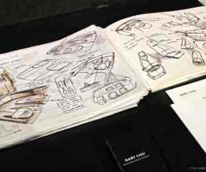 Art Center graduate Gary Chu's sketchbook