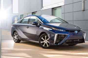 Toyota Mirai fuel cell vehicle (2016)