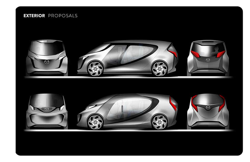 Three Vehicle Design Projects by Art Center Grad John Mark Vicente