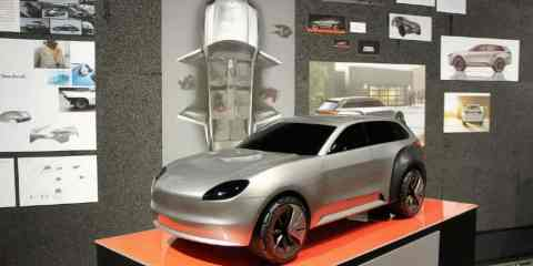 Porsche Ombak concept by Maeva Ribas