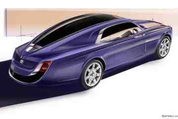 Rolls-Royce Sweptail exterior rendering