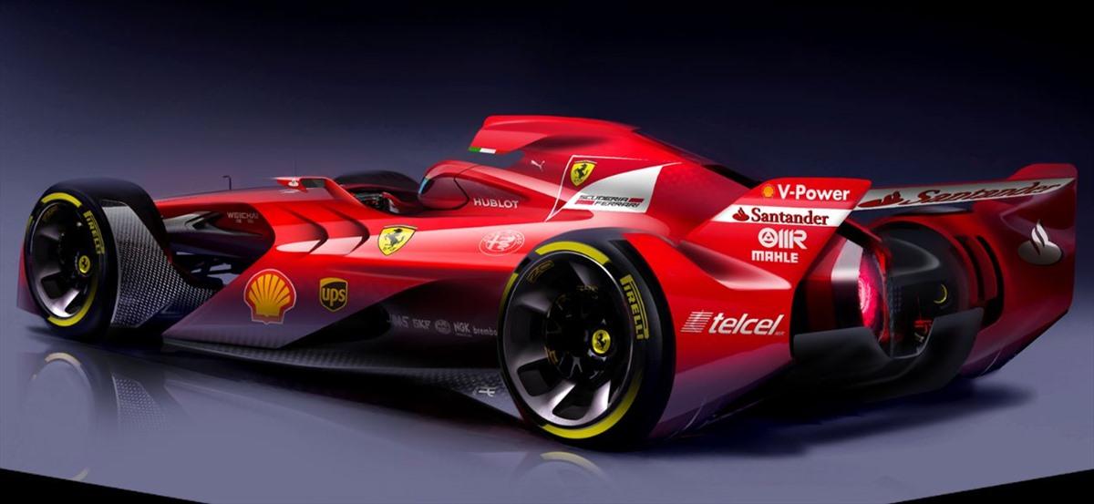 La Concept Car Ferrari F1 Di Nuova Generazione 2015 Formula1it