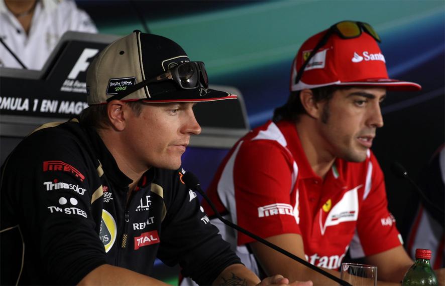 Räikkönen y Alonso serán compañeros de equipo en 2014