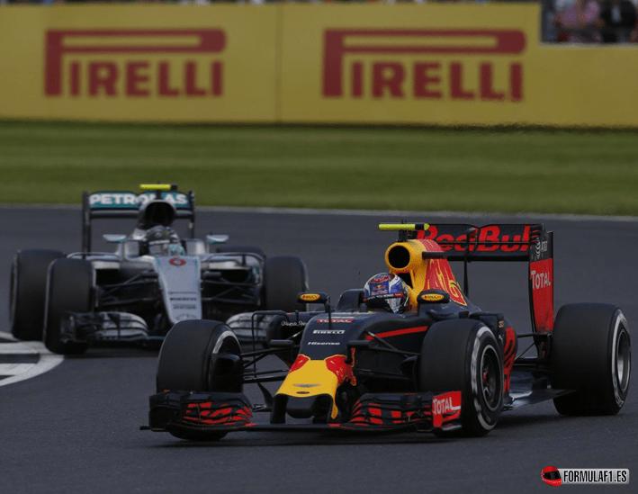 Verstappen. GP Gran Bretaña 2016