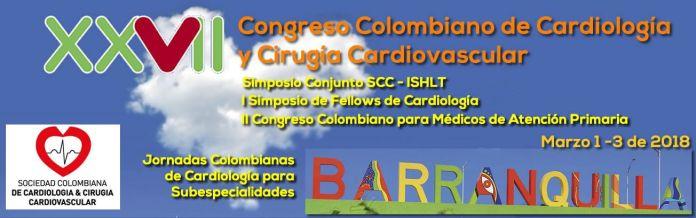 XXVII Congreso Colombiano de Cardiología y Cirugía Cardiovascular - Formula Medica