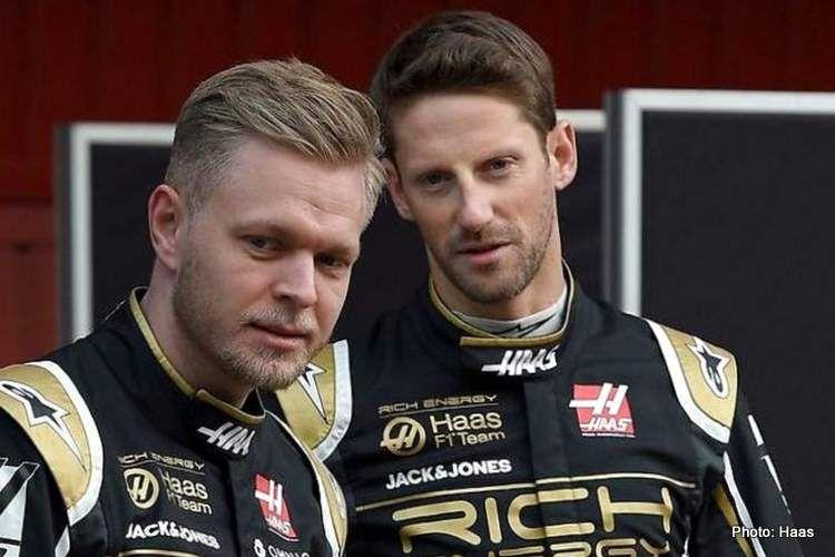 OFICIAL: Haas confirma a Romain Grosjean y Kevin Magnussen para la próxima temporada