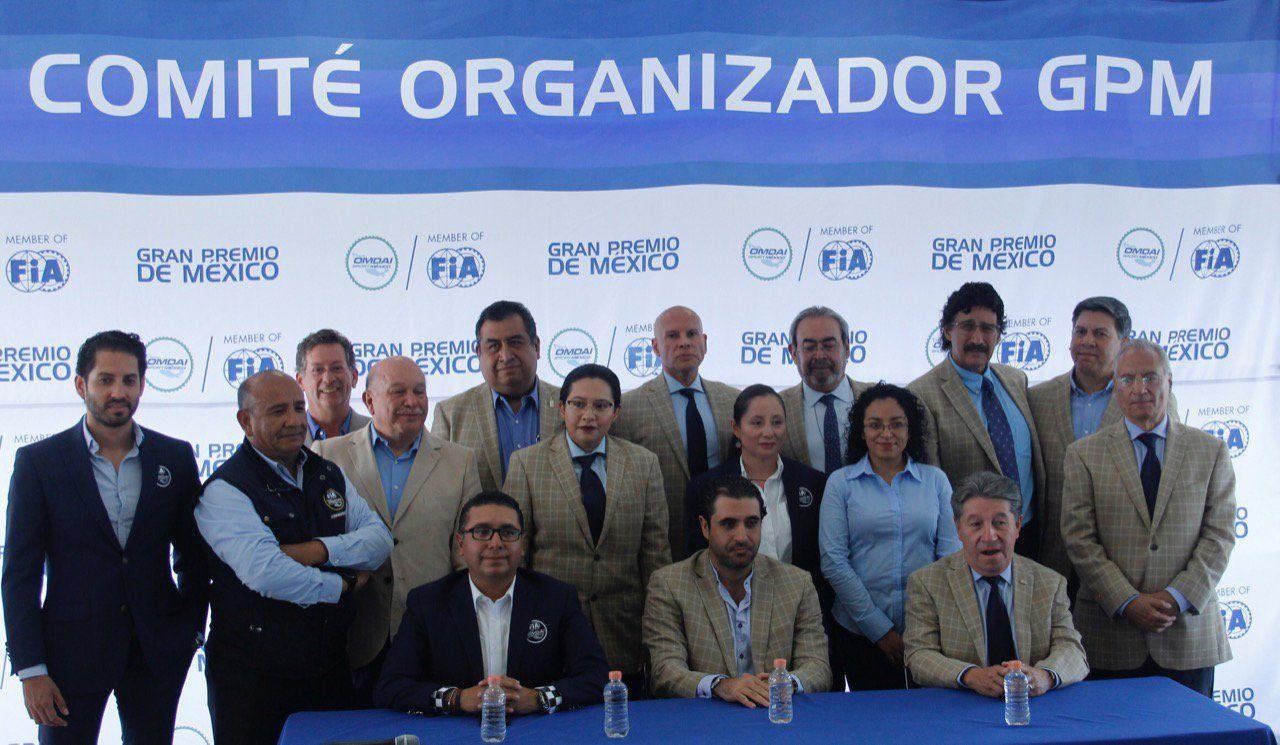 Se presentó el Comité Organizador para el Gran Premio de México 2019