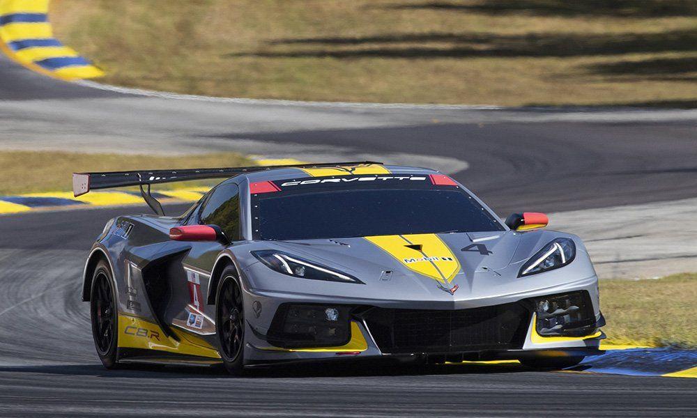 Corvette Racing presenta el C8.R con el que disputará Le Mans