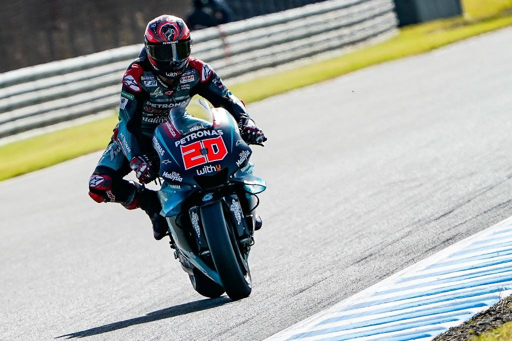 Fabio Quartararo: La mejor Yamaha en Motegi y novato del año.