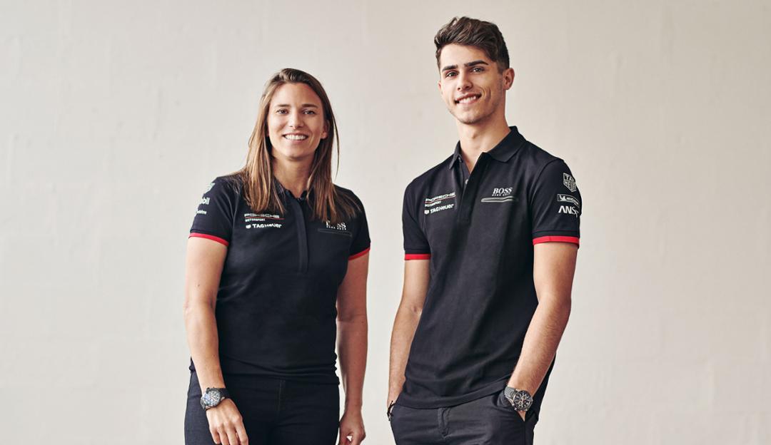 Simona de Silvestro y Thomas Preining ocuparán el rol de piloto de test y desarrollo en TAG Heuer Porsche Fórmula E