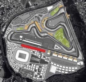 diseño circuito nuevo de Río de Janeiro