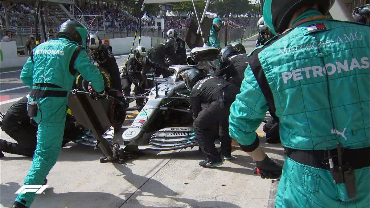 """Lewis Hamilton: """"Felicitaciones a Red Bull, hicieron el mejor trabajo y merecieron la victoria"""""""