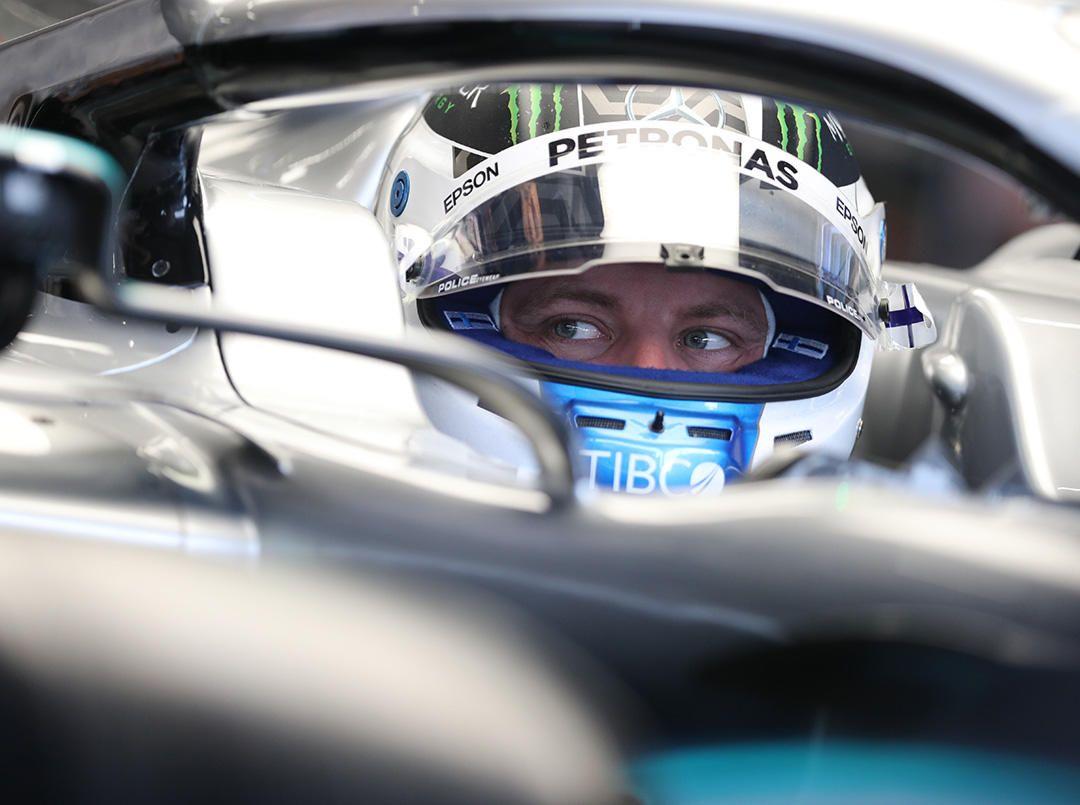 Valtteri Bottas se queda con el mejor tiempo en los test de Pirelli
