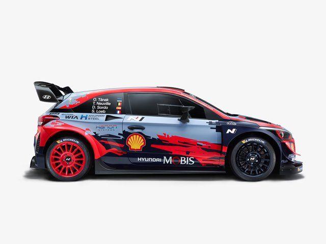 Hyundai presenta el nuevo y evolucionado i20 WRC 2020