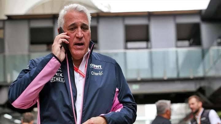 """Lawrence Stroll sobre Sergio Pérez: """"Espero que consiga el lugar en Red Bull"""""""