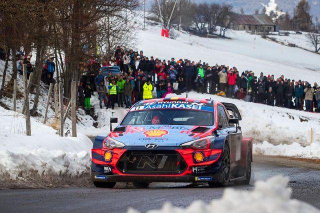 Thierry Neuville y Hyundai se llevan el Rally de Montecarlo 2020