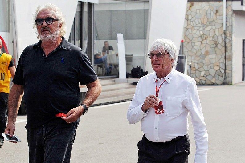Bernie Ecclestone pondría a Flavio Briatore en el lugar de Binotto