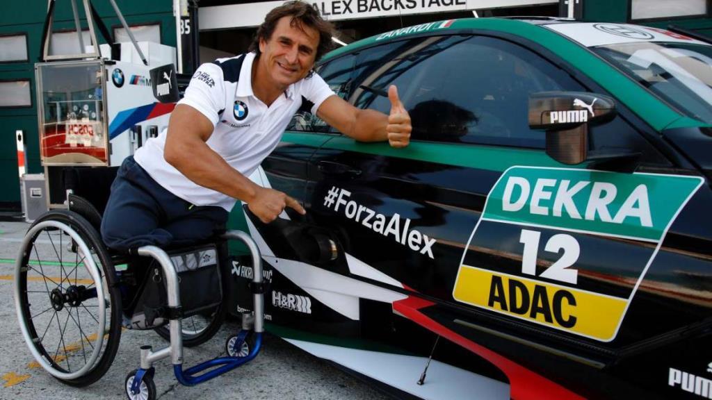 Alex Zanardi en estado grave luego de sufrir un accidente