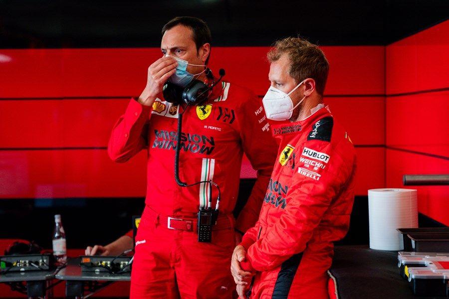 """Sebastian Vettel: """"Racing Point parece emocionante desde fuera"""""""