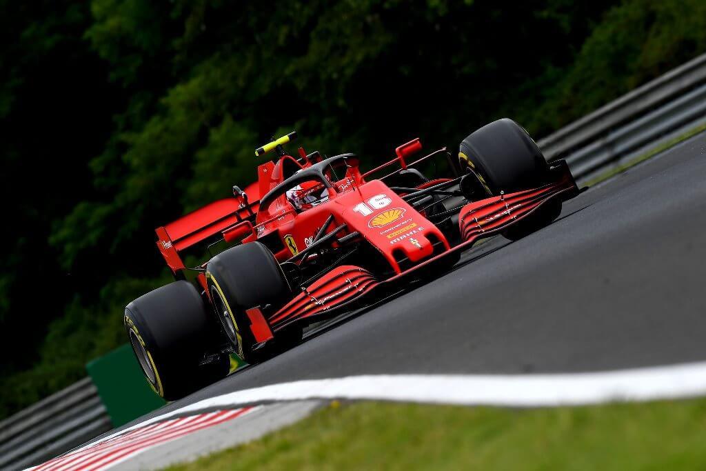 """Leclerc: """"Los Racing Point son muy rápidos, mañana serán igual de competitivos"""""""