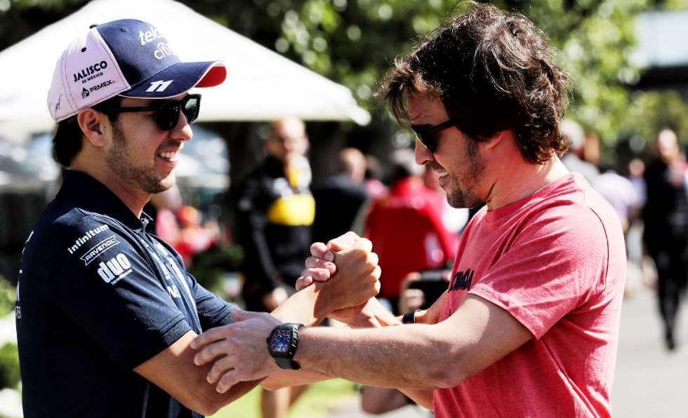"""Fernando Alonso: """"Pérez tiene que ser la primera opción para los equipos con asiento disponible"""""""