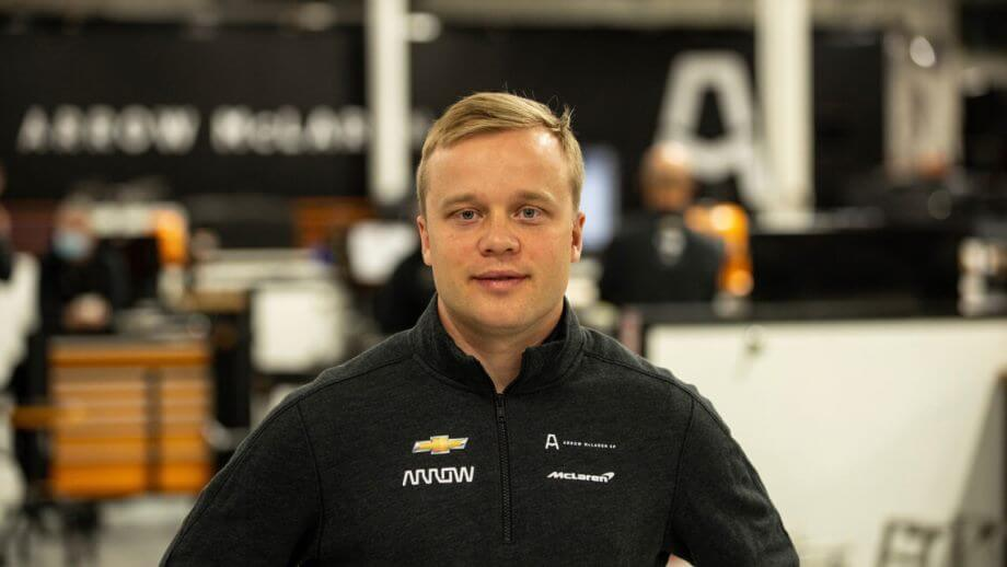 Felix Rosenqvist se une a Arrow McLaren SP para 2021