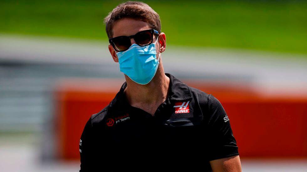 ¡Romain Grosjean se aleja de la Fórmula 1!