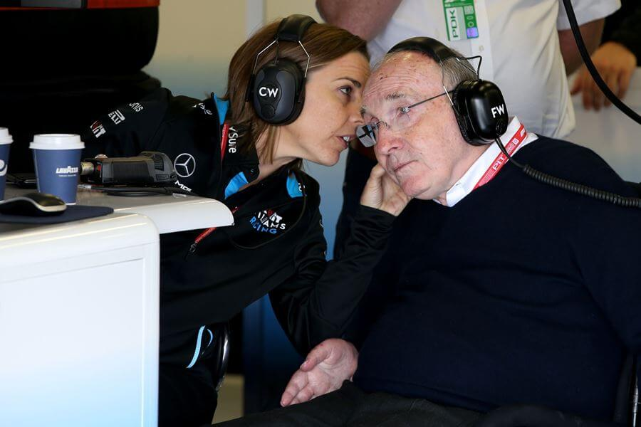 Frank Williams hospitalizado, su condición es estable
