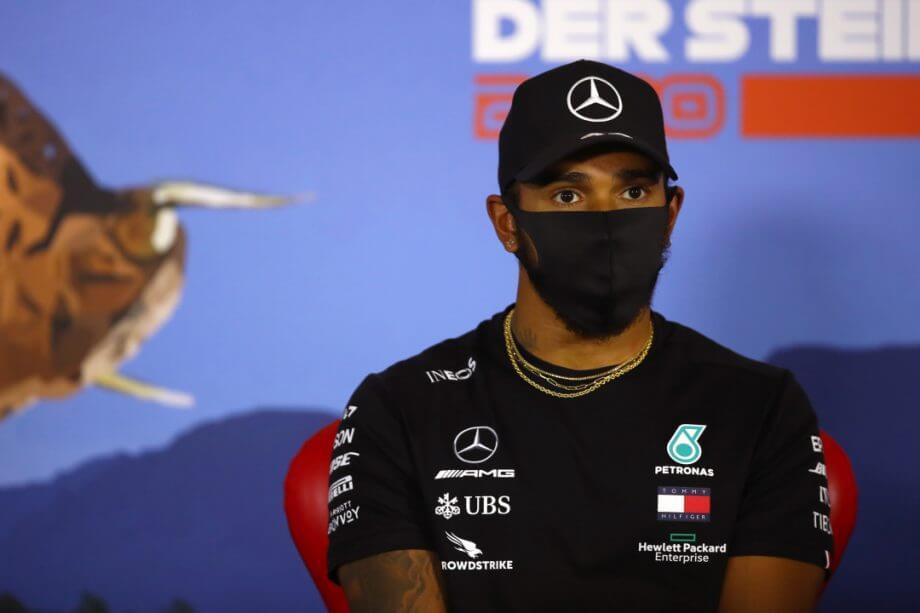 Lewis Hamilton le escribió un mensaje de apoyo a Lando Norris después de su error en Imola