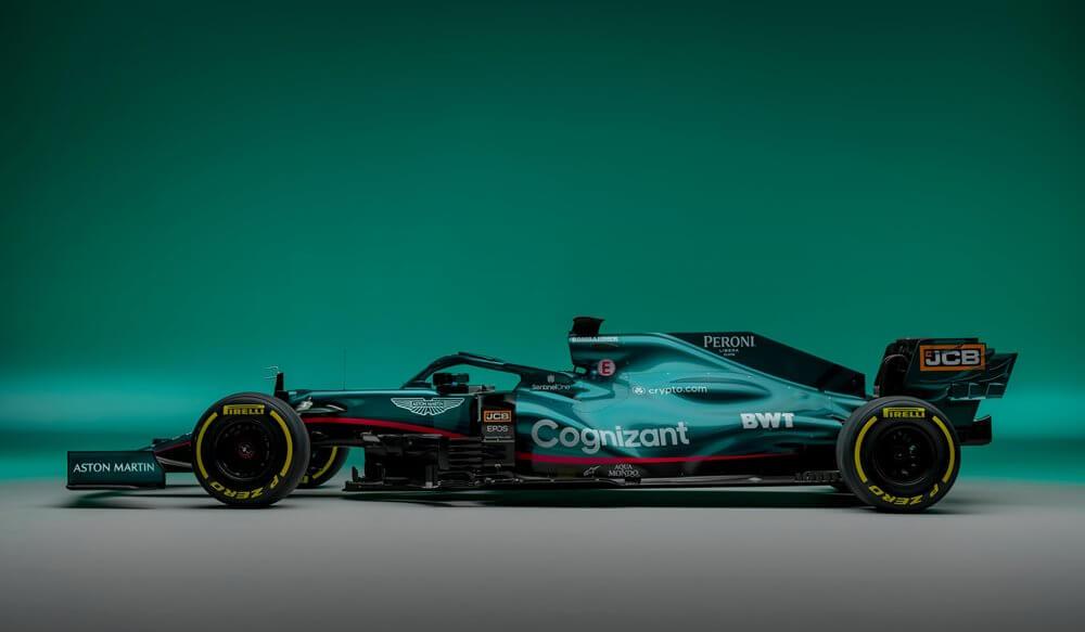 Aston Martin presenta su monoplaza para la temporada 2021 de F1; el AMR21