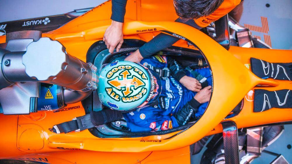 Daniel Ricciardo espera exprimir todo el potencial de su McLaren en el trazado de Barcelona