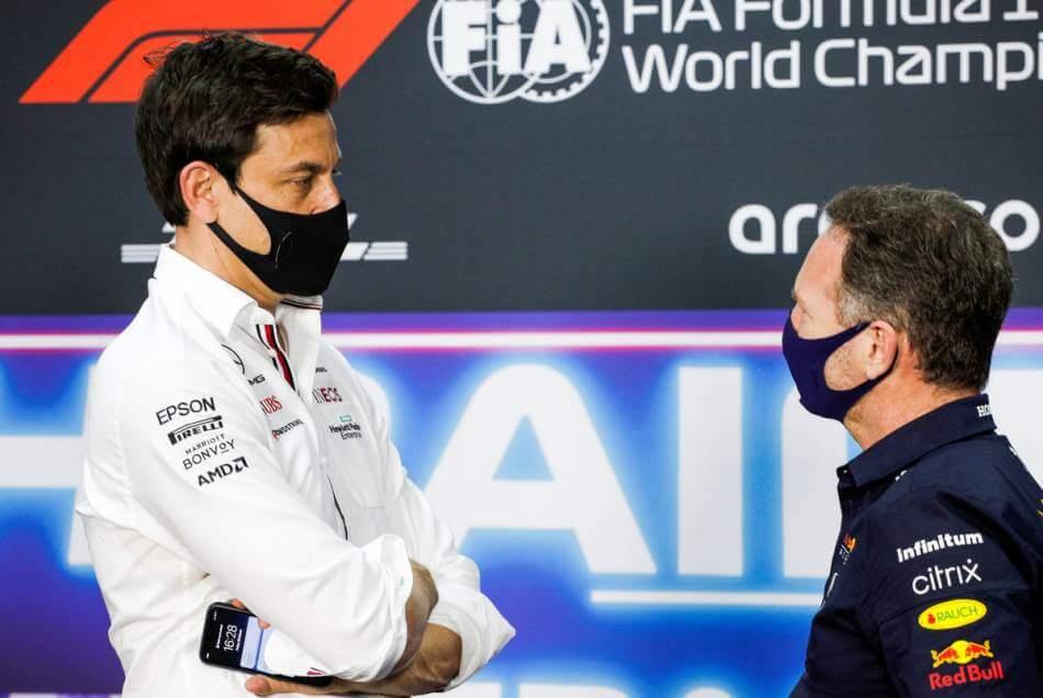 Toto Wolff se disculpó con su homólogo de Red Bull por el error de Bottas