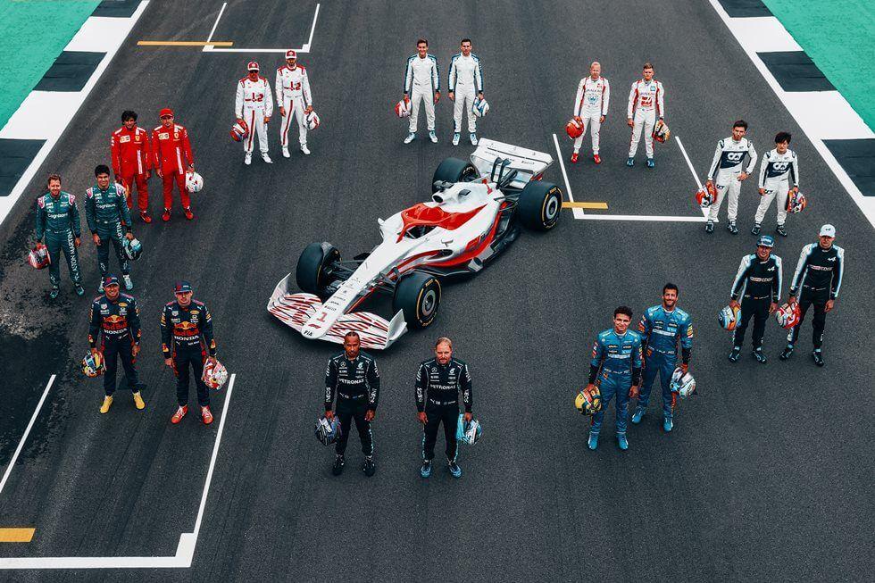 La Fórmula 1 presenta oficialmente el monoplaza que se utilizará en 2022