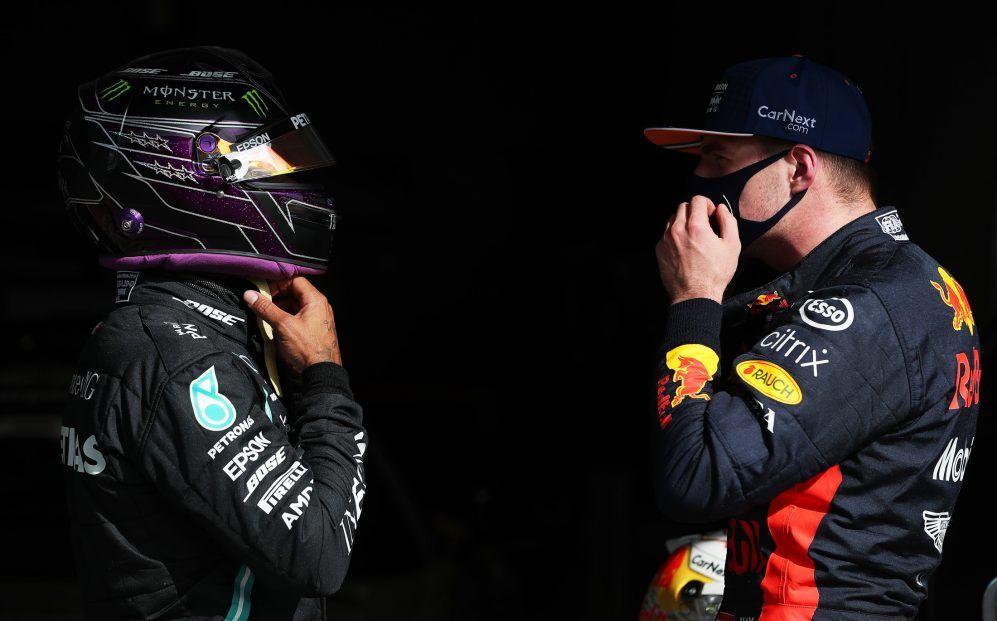 """Lewis Hamilton sobre Verstappen: """"Está en su mejor forma, tanto física como mentalmente"""""""